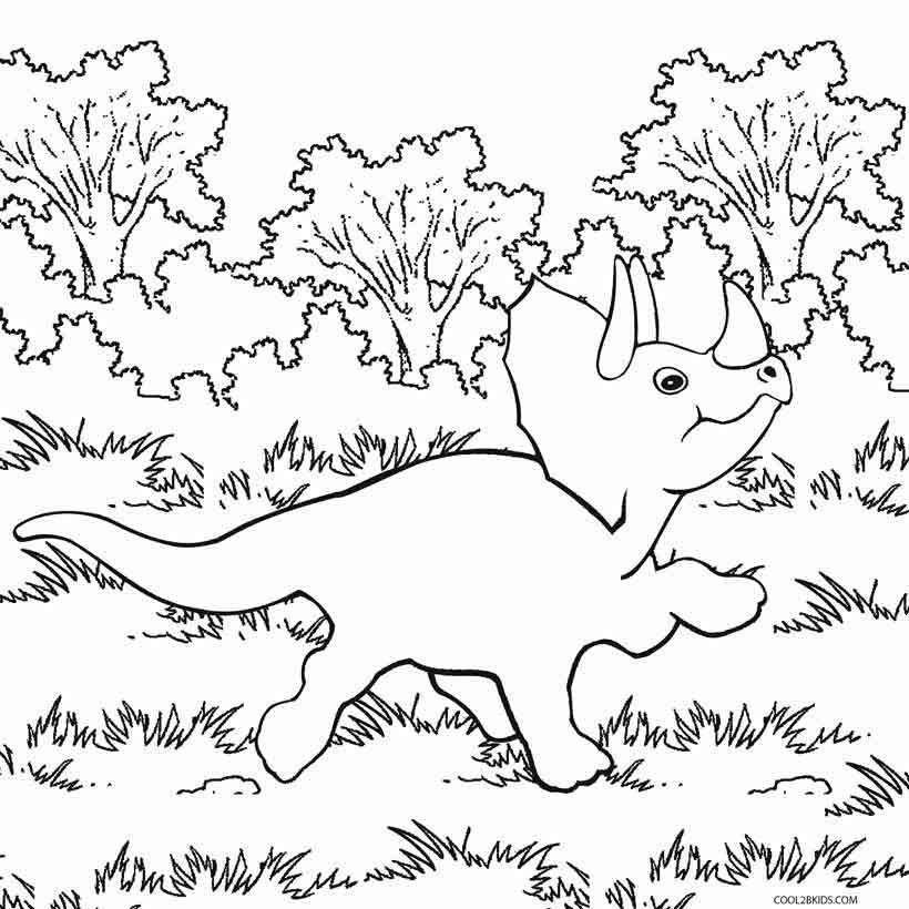 Dibujos De Dinosaurios Para Colorear Cool2bkids