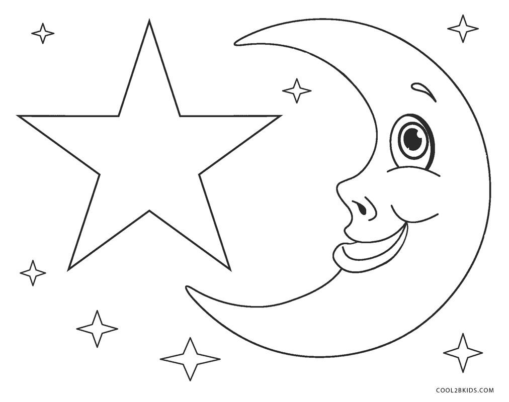 Estrella Dibujos Para Colorear Paginas Para Imprimir Gratis