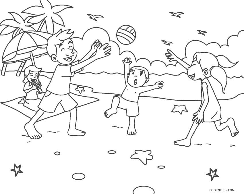 coloring book ~ Beach Printable Coloring Pages For Kids At ... | 675x850