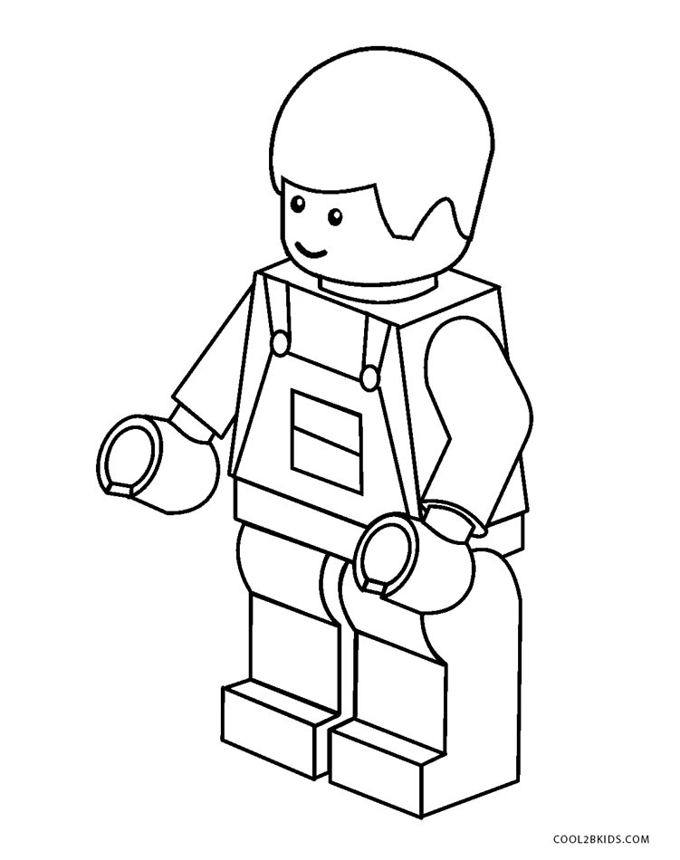 Dibujos De Lego Para Colorear Páginas Para Imprimir Gratis