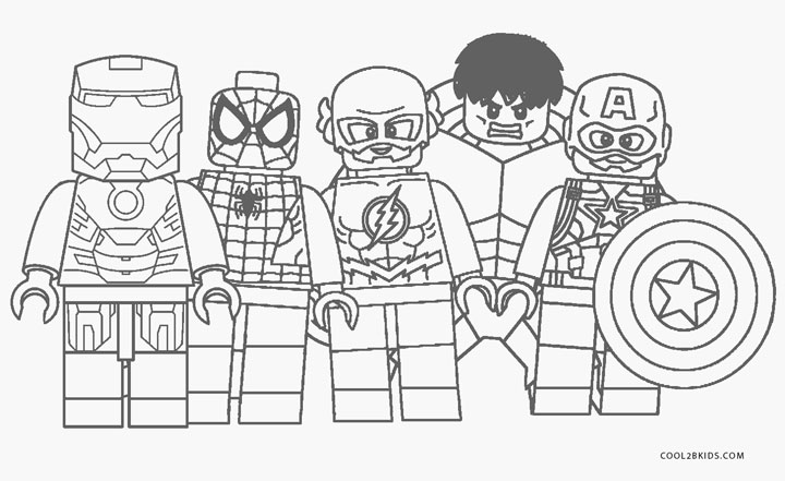 Dibujos De The Avengers Los Vengadore Para Colorear
