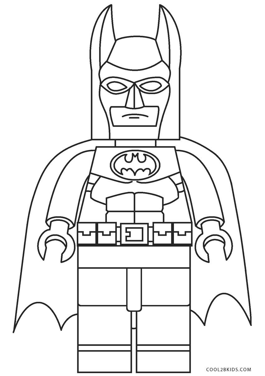 Dibujos de Batman para colorear - Páginas para imprimir gratis