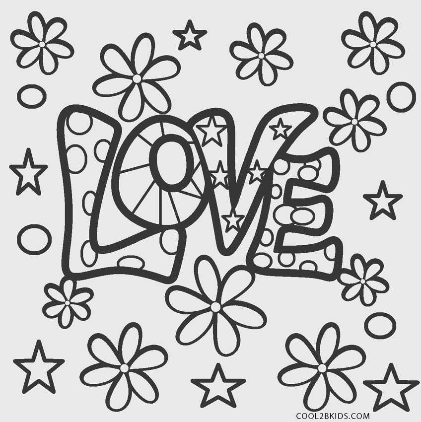 Free Printable Love Coloring Pages For Kids | Cool2bKids
