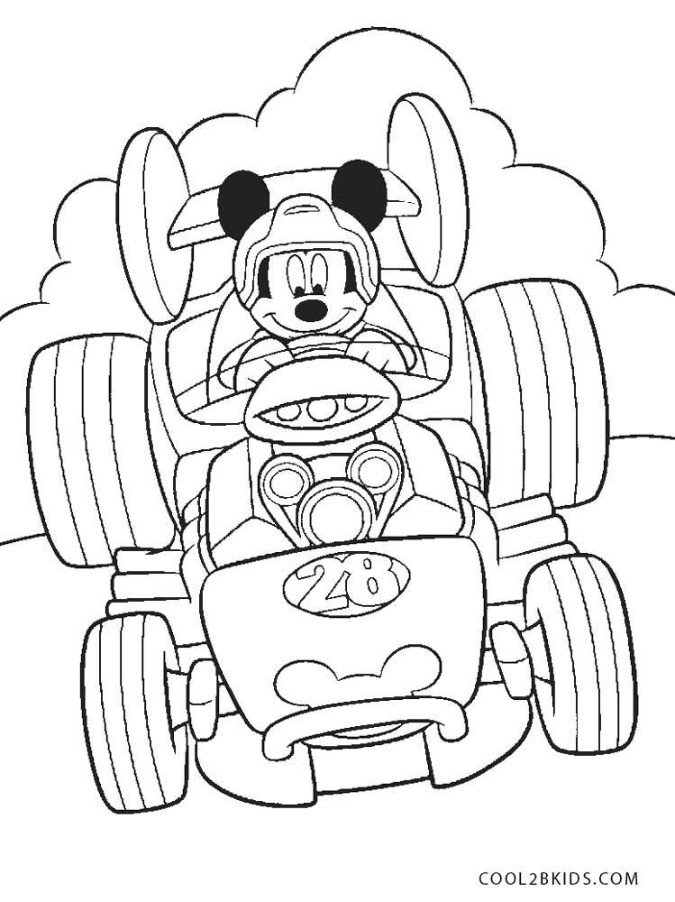 Dibujos De Mickey Mouse Para Colorear Paginas Para Imprimir