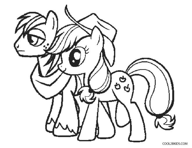 Dibujos De My Little Pony Para Colorear Páginas Para