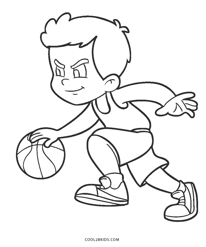 Basketball Coloring Pages - GetColoringPages.com | 1024x853