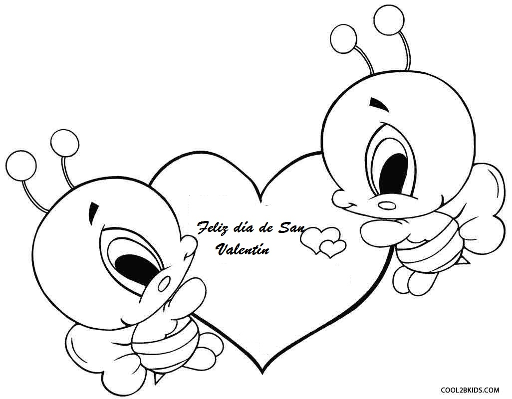 Dibujos de Valentín para colorear - Páginas para imprimir ...