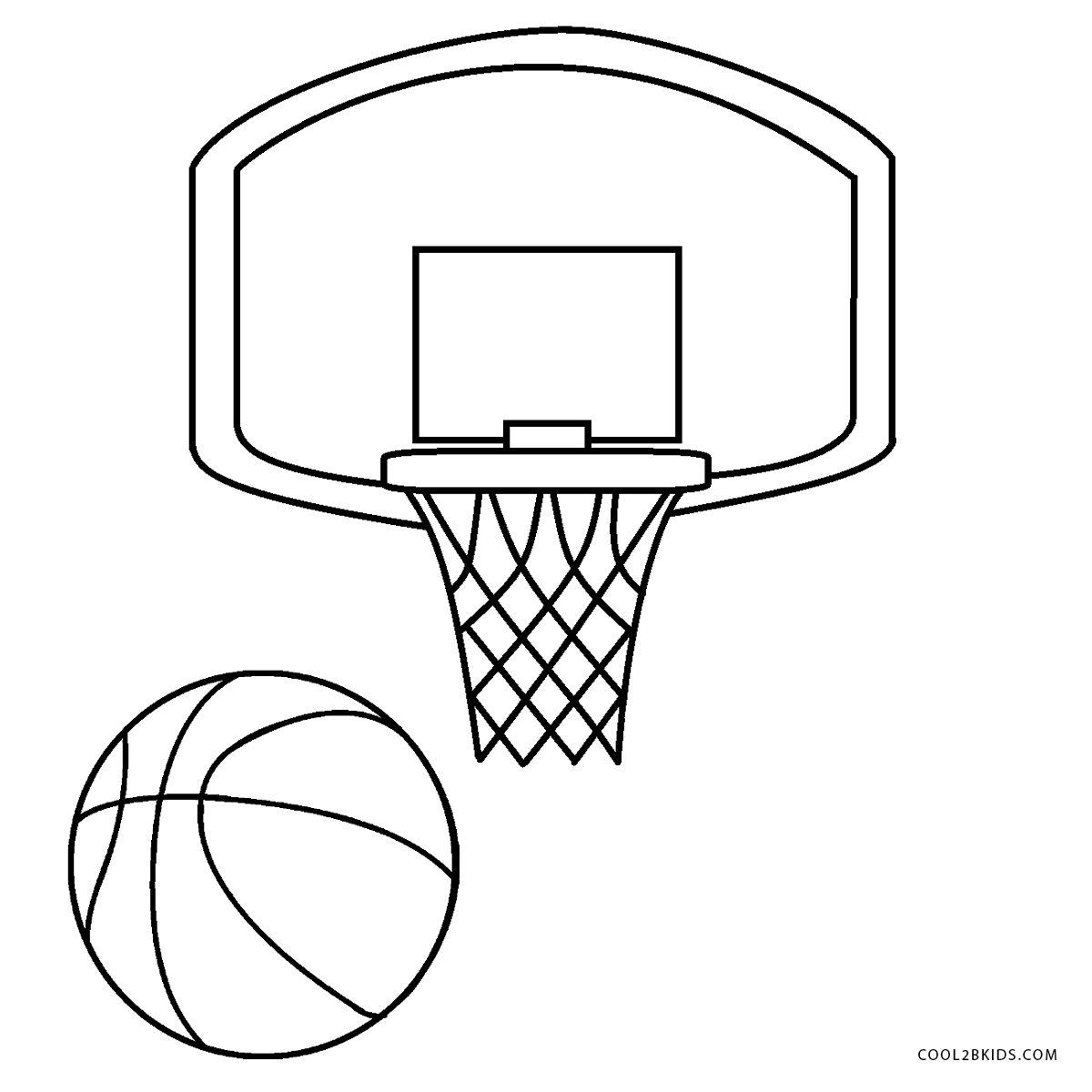 - Free Printable Basketball Coloring Pages For Kids Cool2bKids