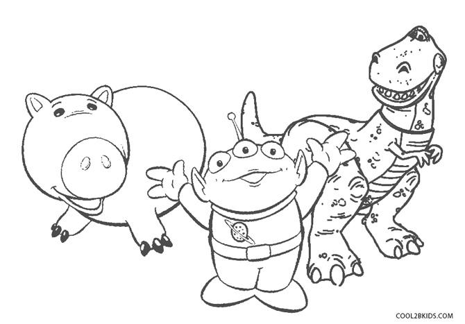 Dibujos De Toy Story Para Colorear Páginas Para Imprimir