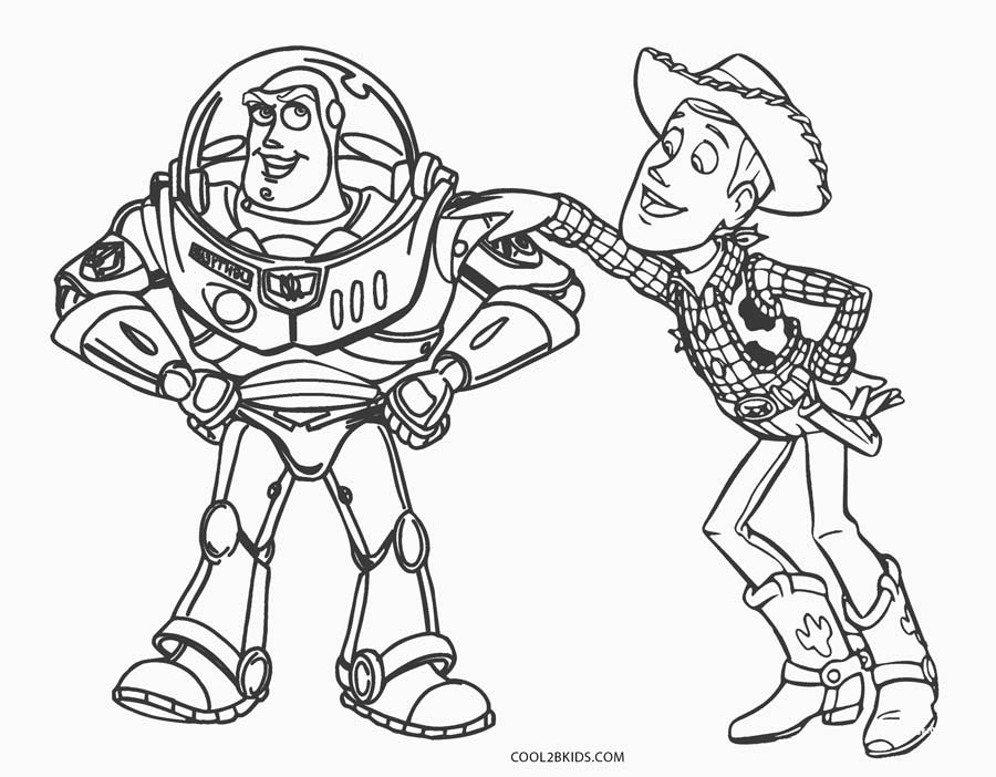 Dibujos Para Colorear Toy Story Woody