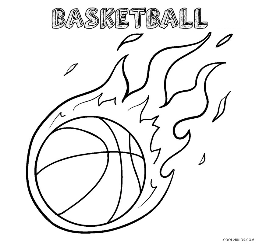 - Free Printable Basketball Coloring Pages For Kids