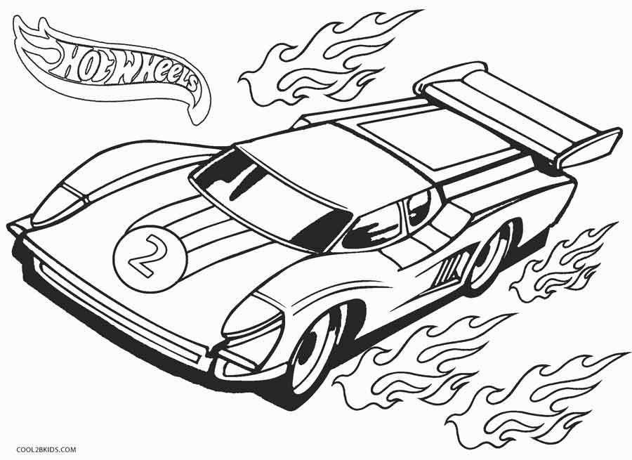 Dibujos De Hot Wheels Para Colorear Paginas Para Imprimir Gratis