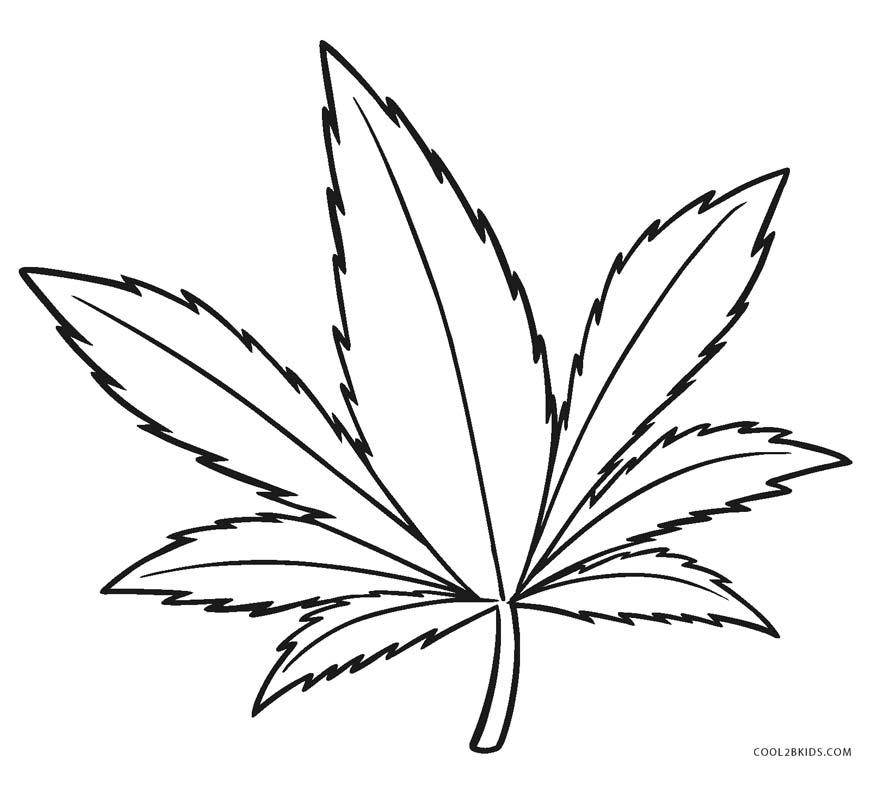 Dibujos de Hojas para colorear - Páginas para imprimir ...
