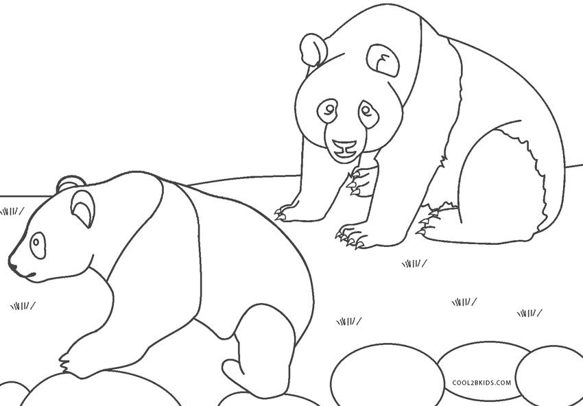 Dibujos De Panda Para Colorear Paginas Para Imprimir Gratis