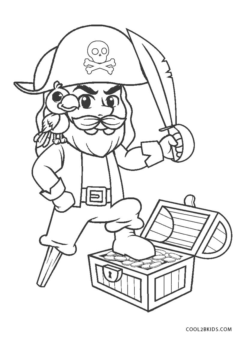 Pirate Color Pages for Kids! | Pirate coloring pages, Girl pirates ... | 1129x800