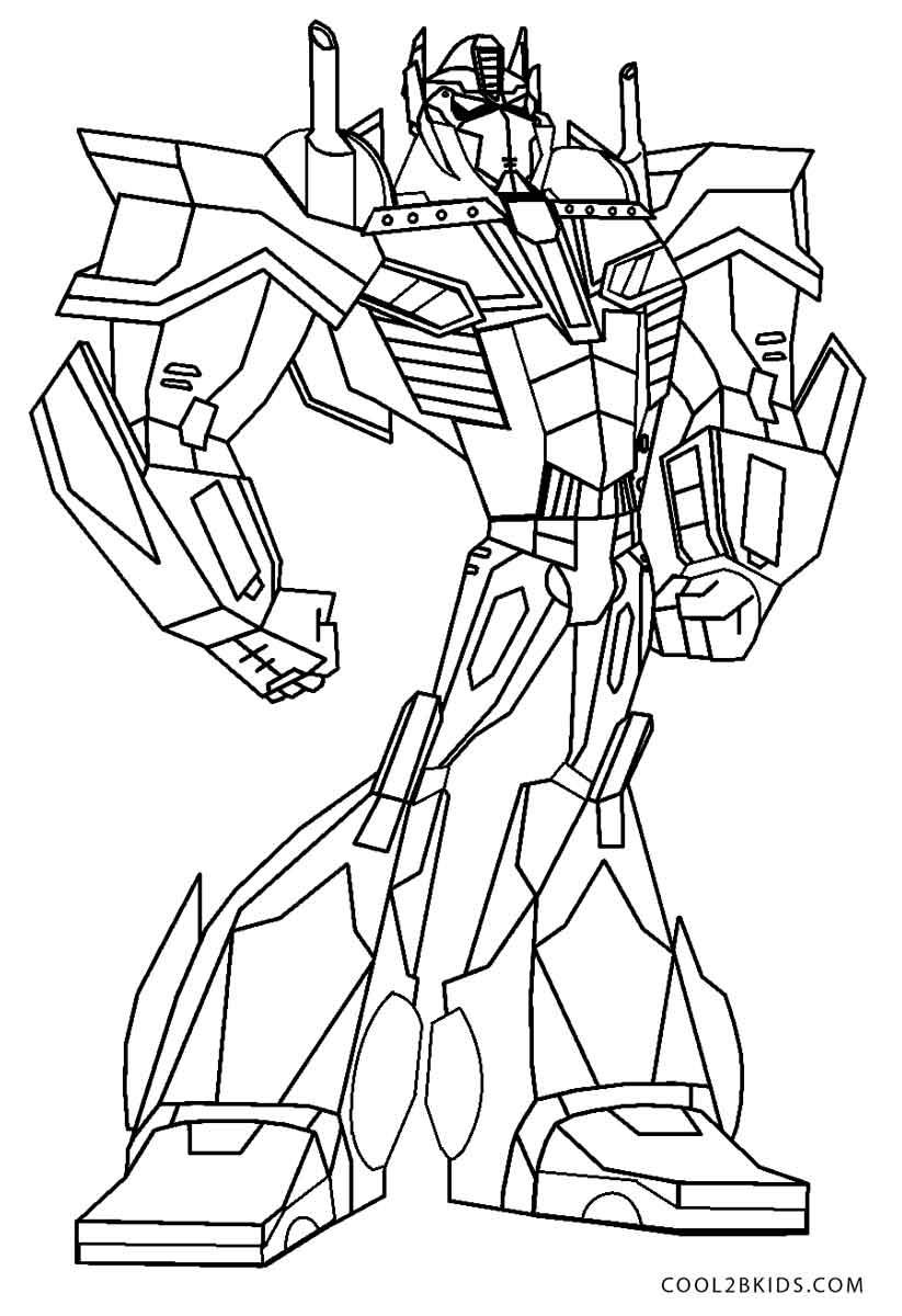 Dibujos de Transformers para colorear - Páginas para ...
