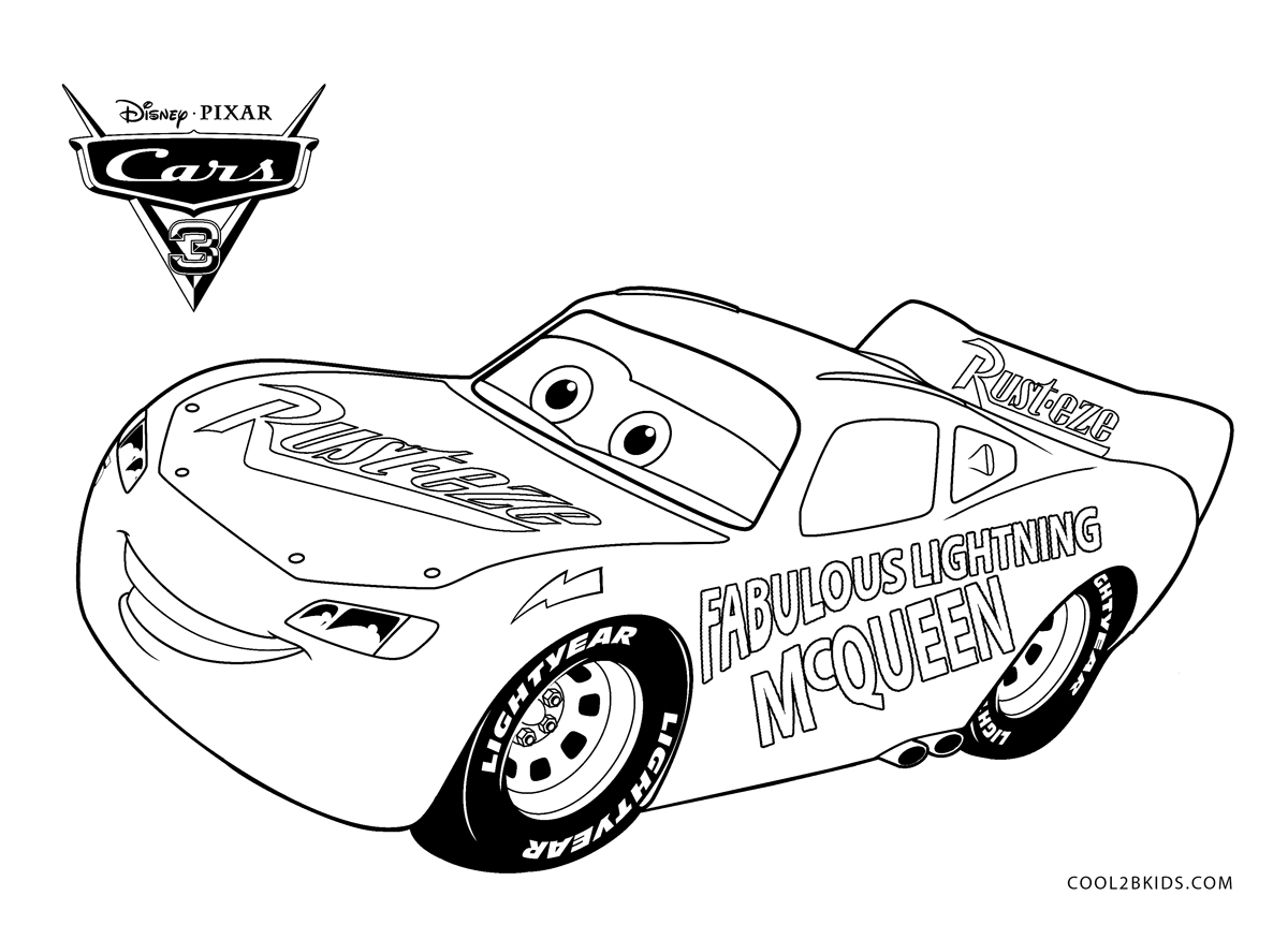 - Free Printable Lightning McQueen Coloring Pages For Kids Cool2bKids