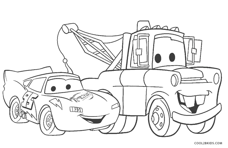 Cars 3 - How to color Lightning McQueen - Coloring Pages For ... | 520x800
