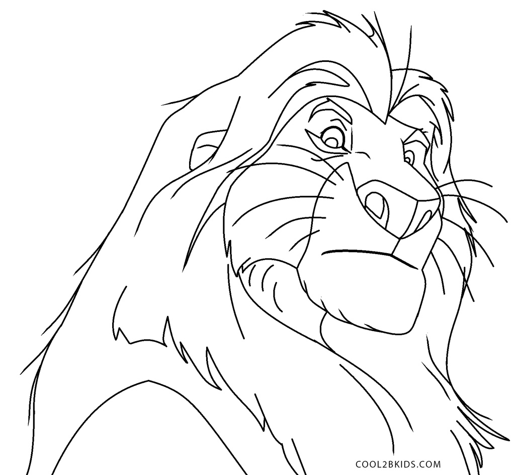 - Free Printable Lion King Coloring Pages For Kids Cool2bKids