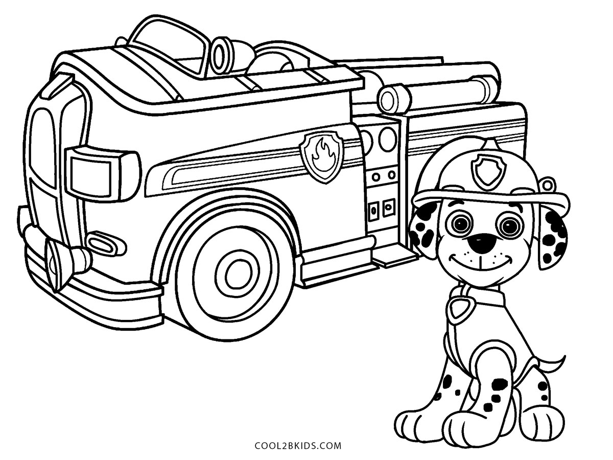 Free Printable Fire Truck Coloring Pages For Kids | 900x1200
