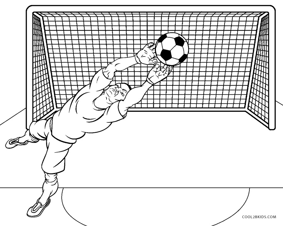Cool Soccer Coloring Pages - Coloring Home | 720x900