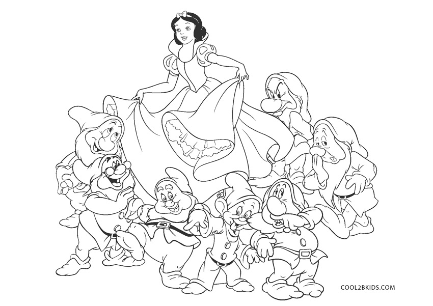 Disney Coloring Pages Snow White