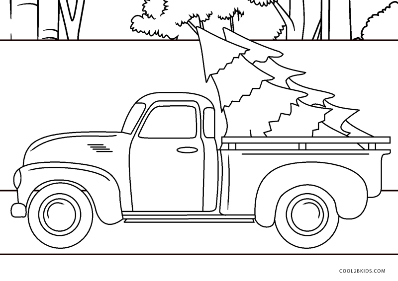 Ford F150 Pickup Truck coloring page | Free Printable Coloring Pages | 566x800