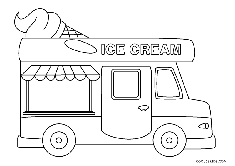 - Free Printable Truck Coloring Pages For Kids