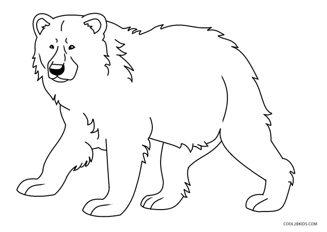 Free Printable Bear Coloring Pages For Kids | 475x670
