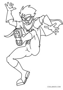 free printable superhero coloring pages for kids