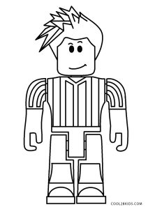 Free Printable Roblox Coloring Pages For Kids
