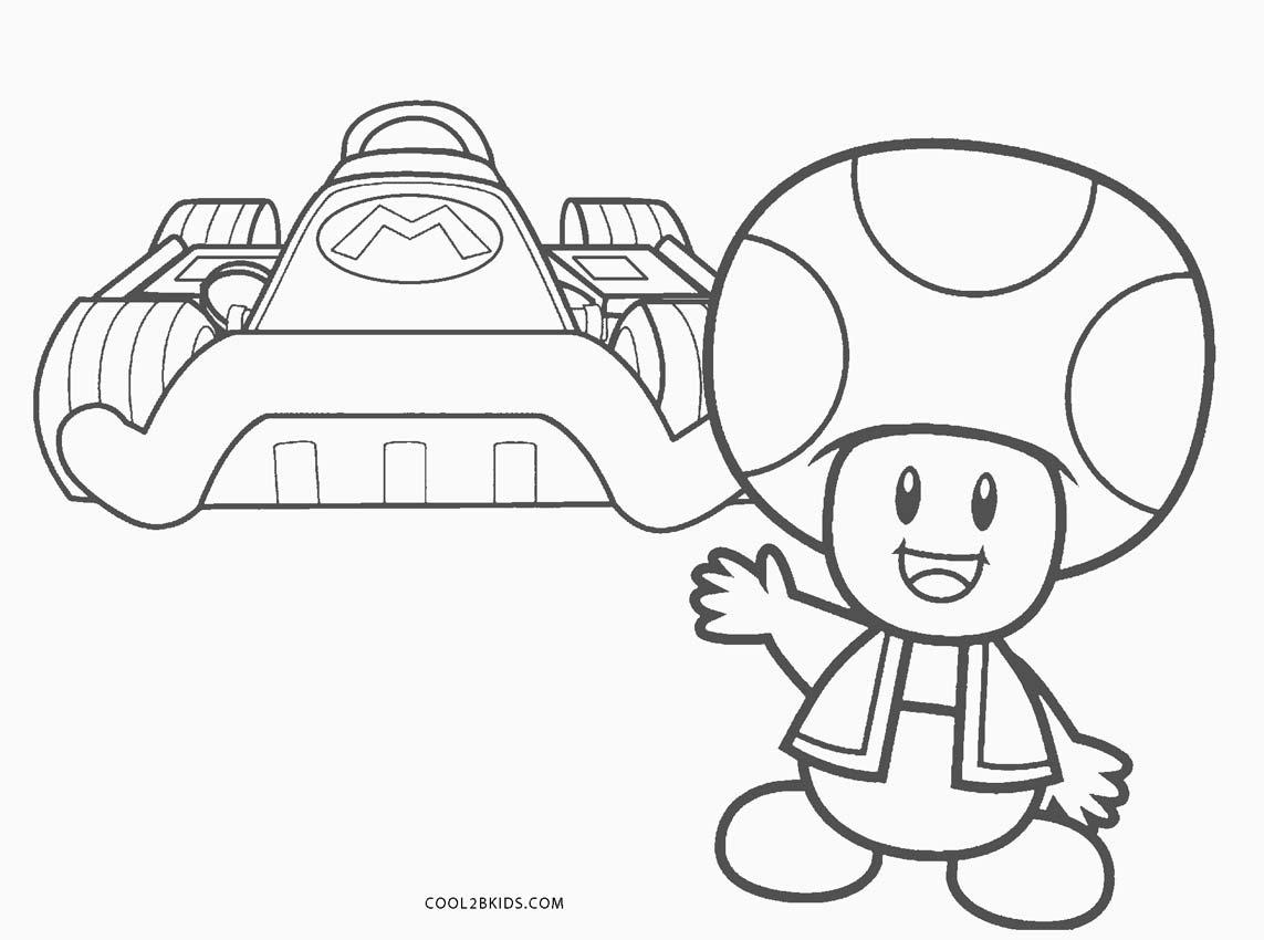 Dibujos de Mario Kart para colorear - Páginas para ...