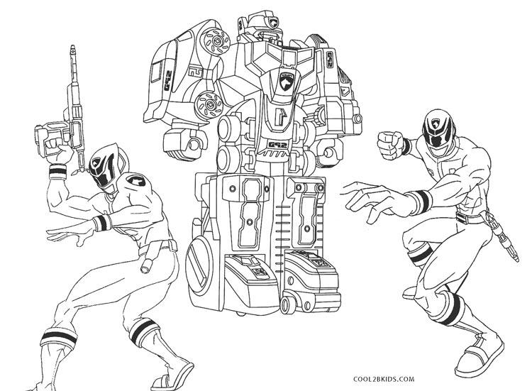 Dibujos de Power Ranger para colorear - Páginas para ...