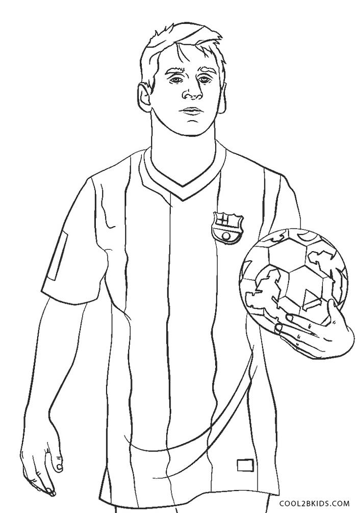 Dibujos de Fútbol para colorear - Páginas para imprimir gratis