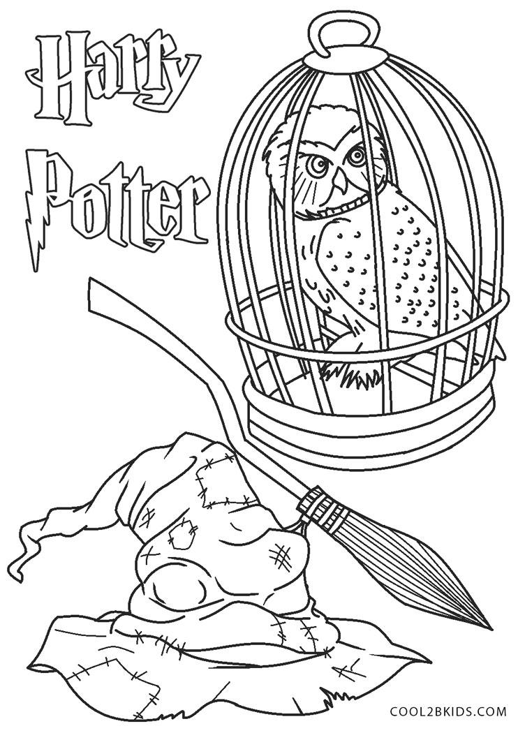 Dibujos de Harry Potter para colorear - Páginas para ...