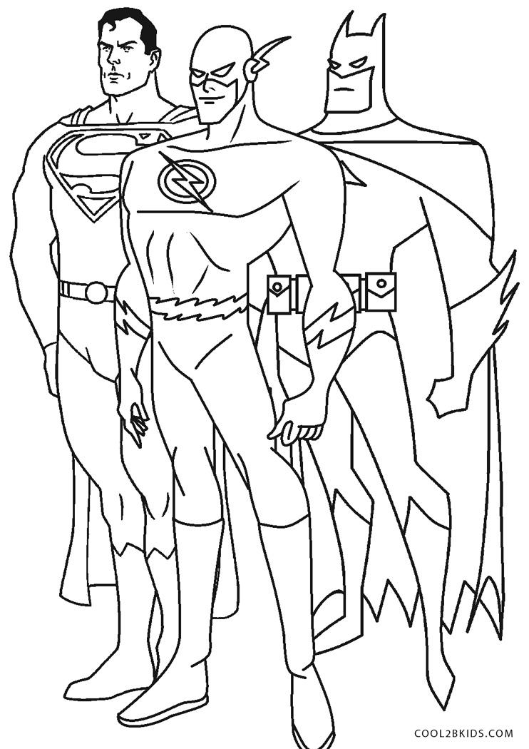 Dibujos de Superhéroe para colorear - Páginas para ...