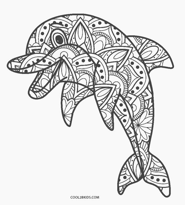 ausmalbilder delfin - malvorlagen kostenlos zum ausdrucken