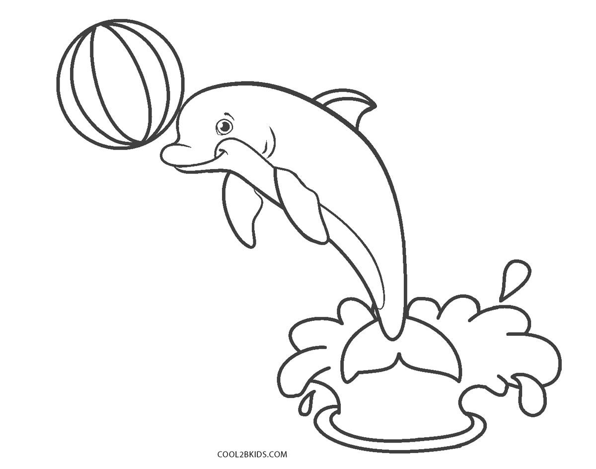ausmalbilder delfin  malvorlagen kostenlos zum ausdrucken