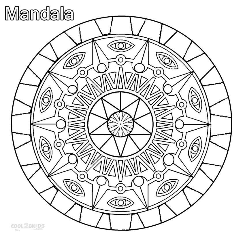 ausmalbilder mandala  malvorlagen kostenlos zum ausdrucken