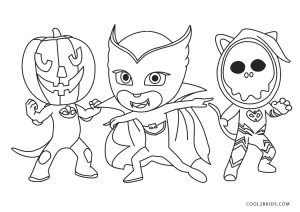 free printable pj masks coloring pages for kids