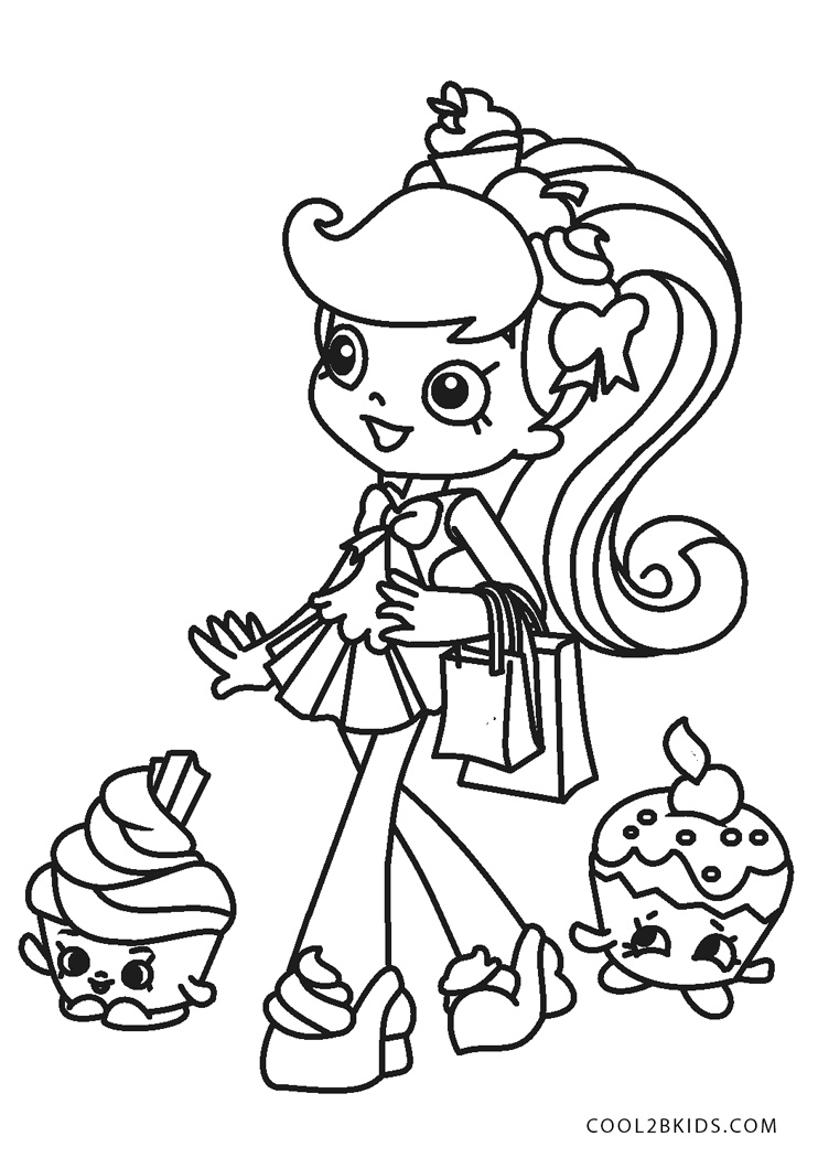 Free Printable Shopkins Coloring Pages For Kids