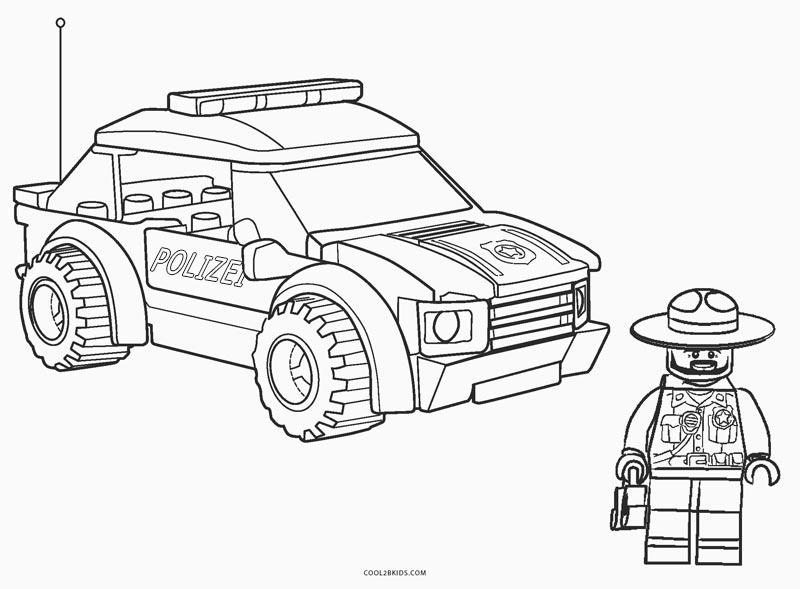 Zum lego ausmalen mann 59 Lego