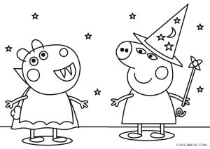 Free Printable Peppa Pig Coloring Pages For Kids
