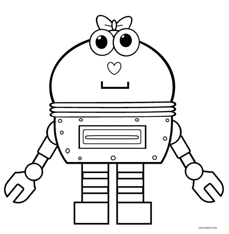 ausmalbilder roboter  malvorlagen kostenlos zum ausdrucken