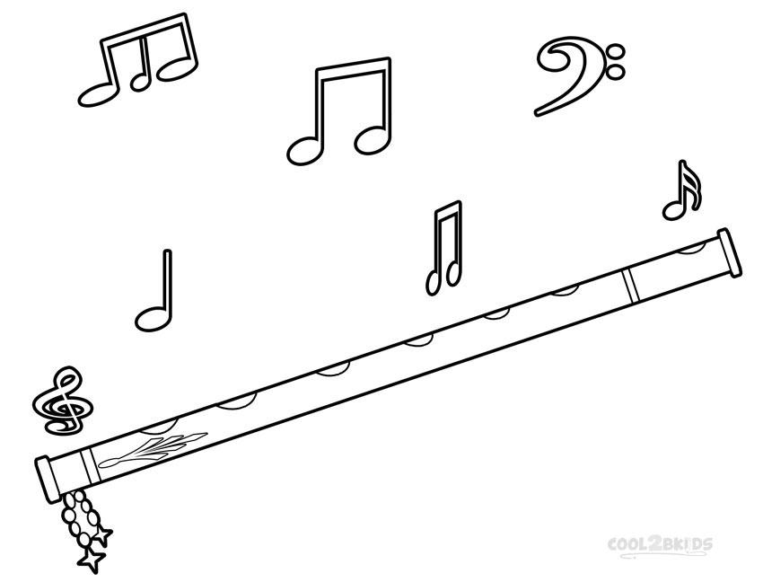 ausmalbilder musiknoten  malvorlagen kostenlos zum ausdrucken