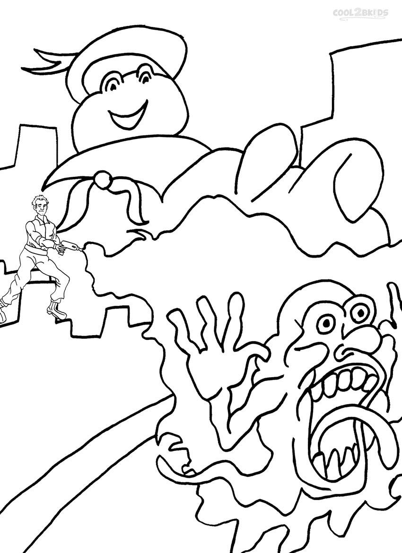 Ausmalbilder Ghostbusters - Malvorlagen kostenlos zum ausdrucken