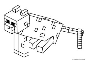 free printable minecraft coloring pages for kids