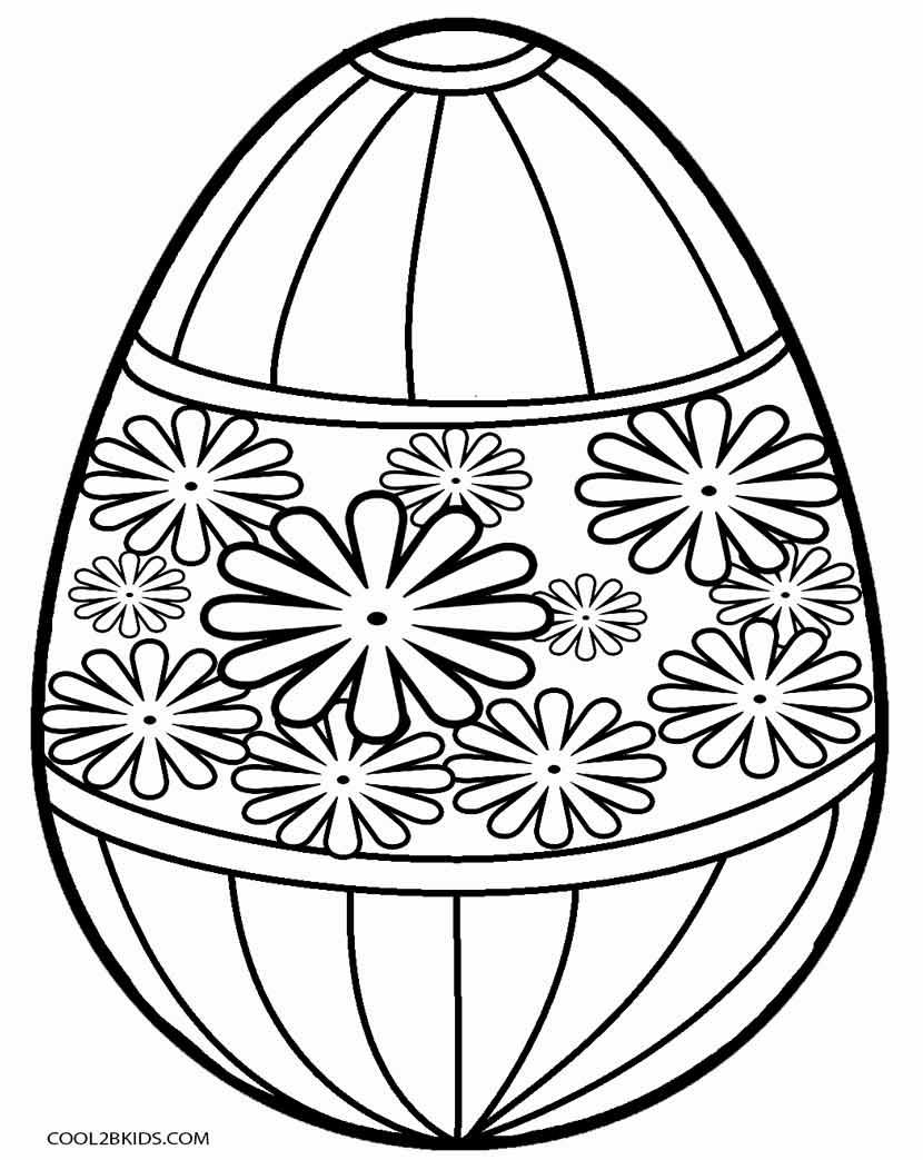 Ausmalbilder Osterei - Malvorlagen kostenlos zum ausdrucken