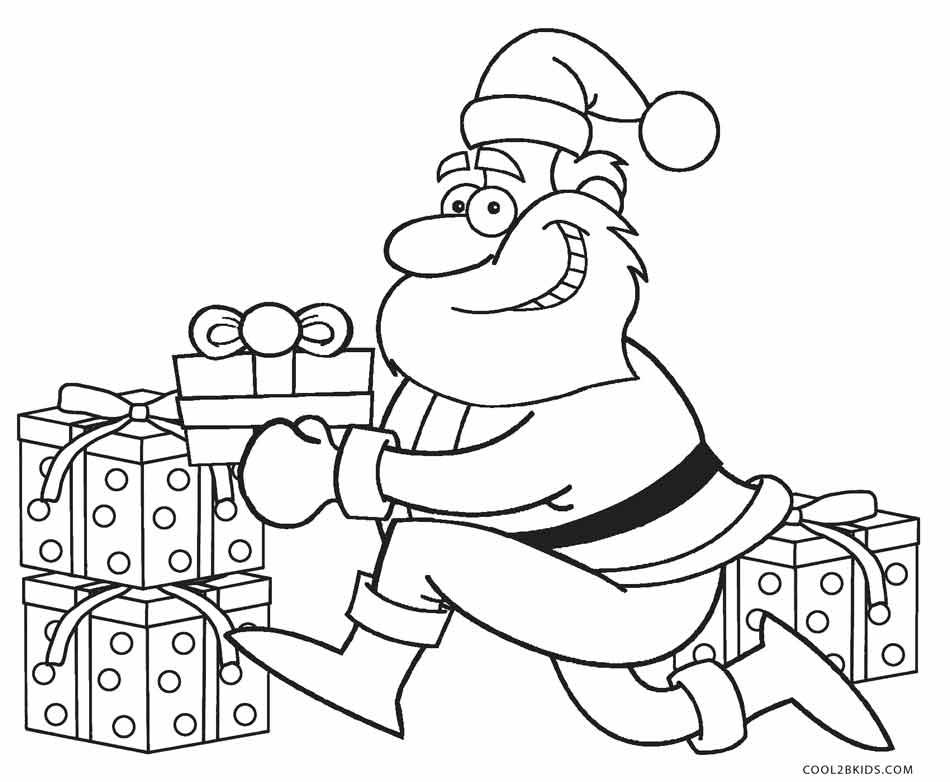 ausmalbilder weihnachtsmann  malvorlagen kostenlos zum