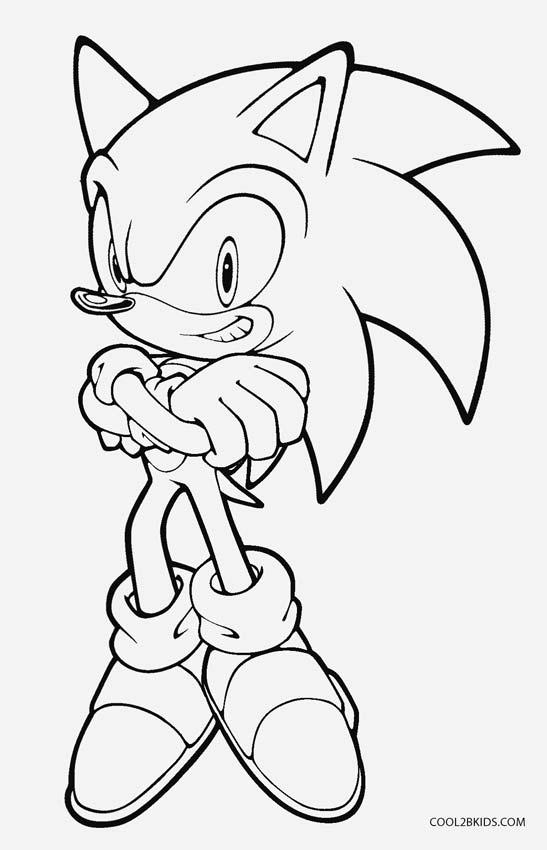 Ausmalbilder Sonic Malvorlagen Kostenlos Zum Ausdrucken